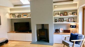 Living Room Built-in Furniture