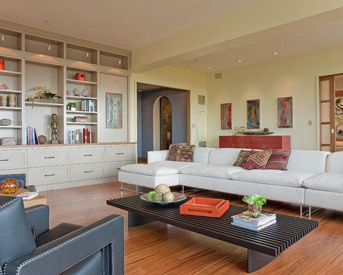Living Room Builtins Houzz
