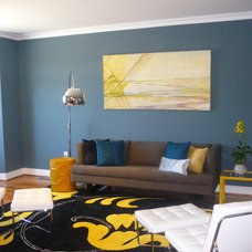 Contemporary Living Room by Busybee Design