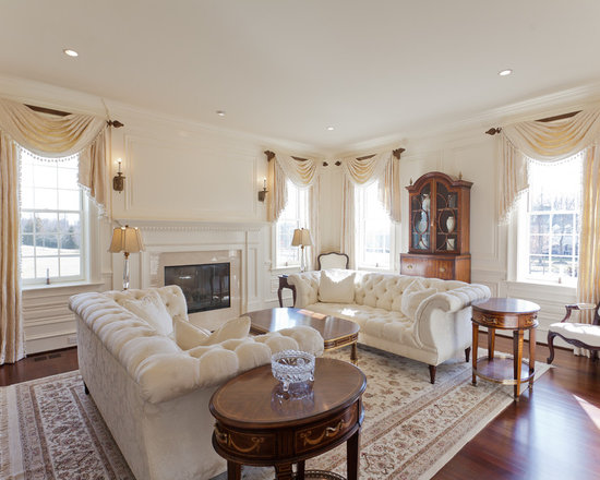 Living Room Curtain Ideas Houzz