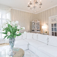 Traditional Living Room by Sheffield Furniture & Interiors