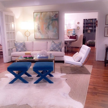 Living room by Tiffany at Cozy Couture Interiors