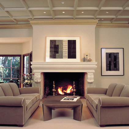 Traditional Living Room by Camber Construction