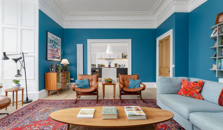 Houzz Tour: An Edinburgh Flat Gains a Light and Bright New Layout