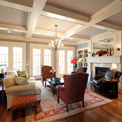 traditional living room by Carbine & Associates, LLC