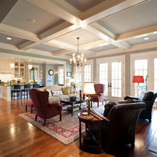 Traditional Living Room by Carbine and Associates, LLC