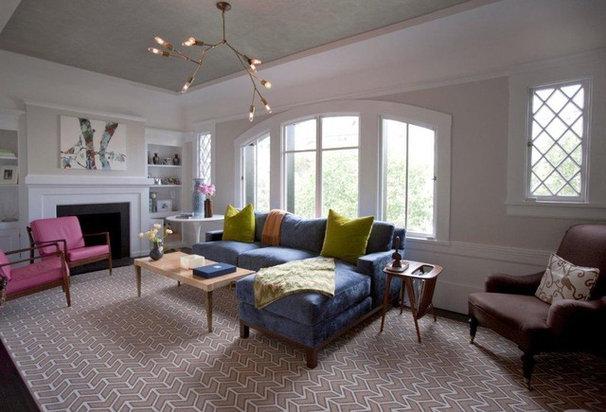 Contemporary Living Room by Cardea Building Co.
