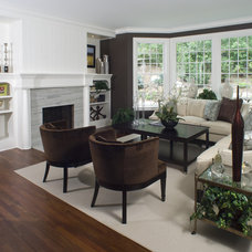Traditional Living Room by Carl M. Hansen Companies