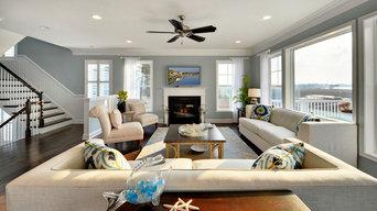 Living Room - Catalina Model Home