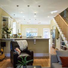 Contemporary Living Room by CFH Design Studio