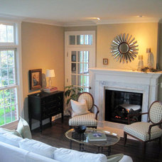 Traditional Living Room by Chartreuse Design, Ltd.