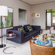Contemporary Living Room by Cheryl Burke Interior Design