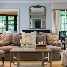 Traditional Living Room by Patricia Knox Designs