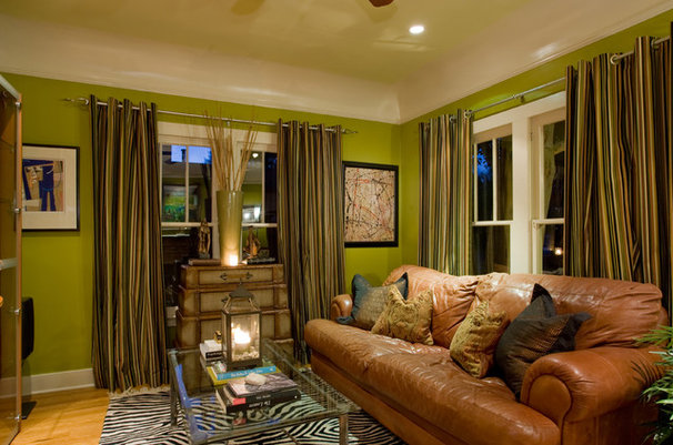 Eclectic Living Room by Chris Jovanelly Interior Design