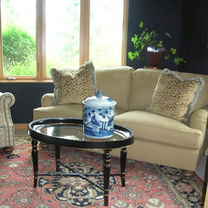 Eclectic Living Room by Christine Sutphen, ASID, NCIDQ