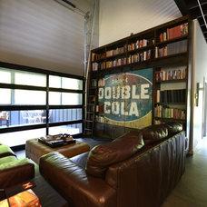 Industrial Living Room by (n)habit