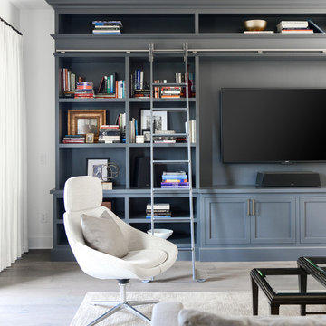 LIVING ROOM   Contemporary Home Remodel   Century City Townhouse   Part One