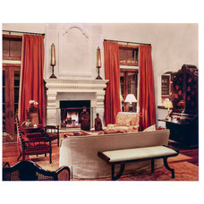 Traditional Living Room by Cravotta Interiors