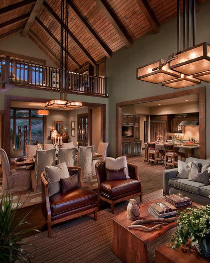 Contemporary Living Room by CSE & Associates, INC.