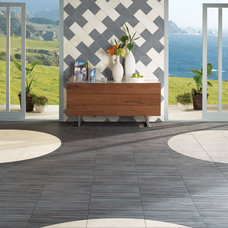 Contemporary Living Room by Daltile