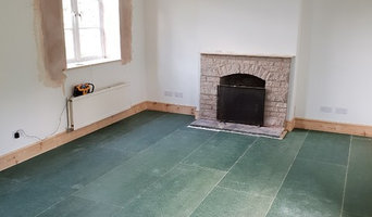 Living Room Damp Proofing and Refurbishment - Leominster