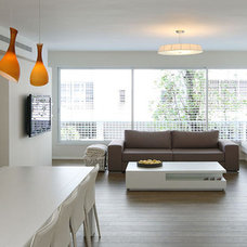 Modern Living Room by Dana Cohen-Vishkin