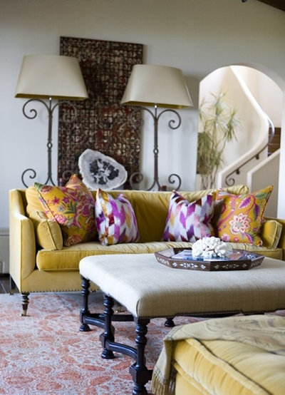 Eclectic Living Room by Bliss Home and Design