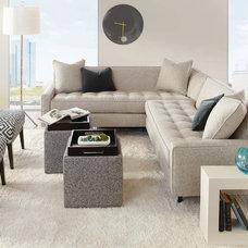 Contemporary Living Room by Dane Design Contemporary Furniture