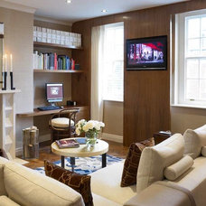 Contemporary Living Room by David Churchill - Architectural  Photographer