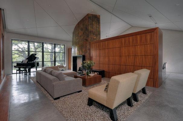 Contemporary Living Room by De Meza + Architecture