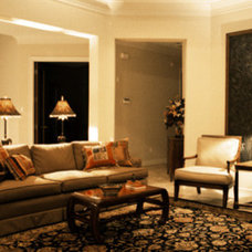 Traditional Living Room by Fletcher Design Consultants