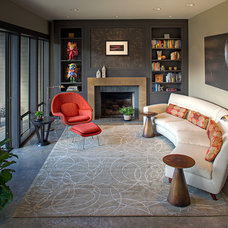 Contemporary Living Room by Marilyn Deering Design