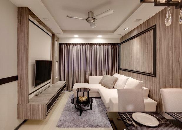 modern living room by design of schatz