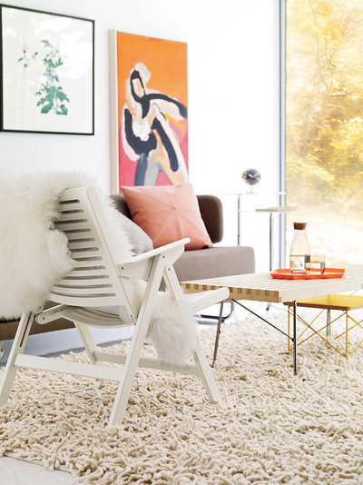 Modern Living Room by Design Within Reach - Pull Up A Folding Chair This Summer