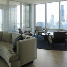 Contemporary Living Room by Designing Edge