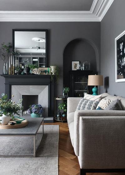 Modern Wohnbereich by DesignSixtyNine