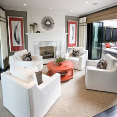 traditional living room by Details a Design Firm