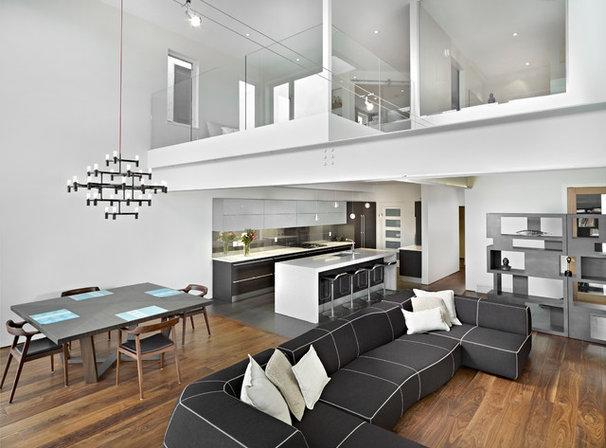 Modern Living Room by Habitat Studio