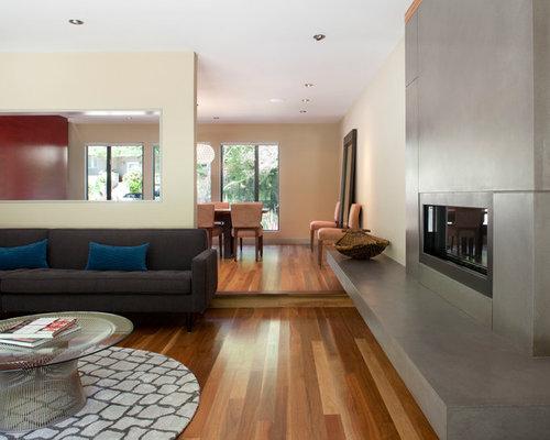 Precast Concrete Fireplace Surround | Houzz
