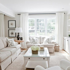 Contemporary Living Room by Lux Decor