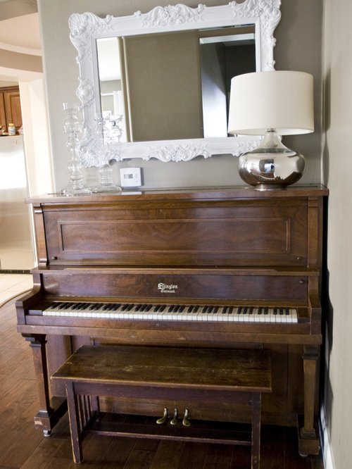 Decorating with grand piano home design ideas pictures remodel and decor - Piano for small space decoration ...