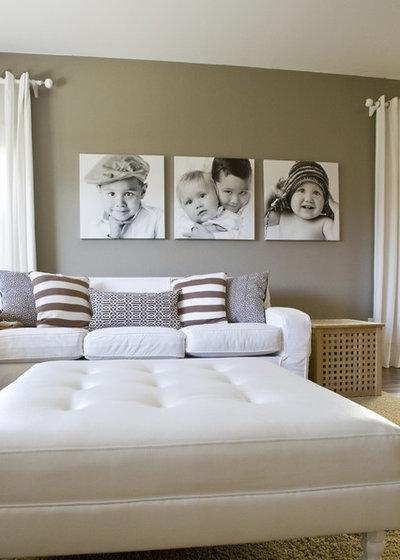Les photos envahissent les murs pour le bien de notre d co - Cadre decoration salon ...