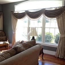 Transitional Living Room by Designworks Interiors, LLC