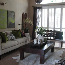 Eclectic Living Room LIVING ROOM / DINING ROOM UPDATE