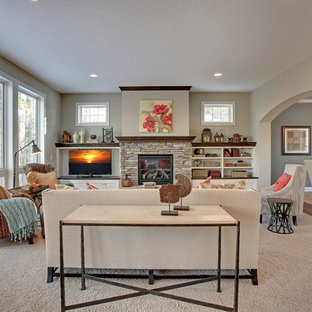 Living Room – Discover Crossing – Model Home