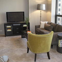 modern living room by Distinct Designs - Jeanette Pierce, ASID