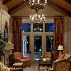 Traditional Living Room by Douglas Design Studio