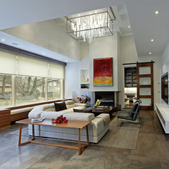 contemporary living room by Douglas Design Studio