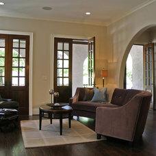 Mediterranean Living Room by Dresser Homes