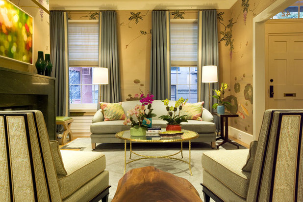 Contemporary Living Room by Dufner Heighes Inc
